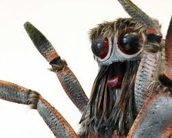 Halloween Scary Voice Changer by Realistic Spider Insect Costume Size Handmade Halloween