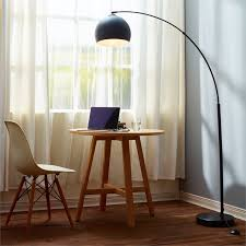 Curved Floor Lamp Copper by Versanora Arquer Arc Floor Lamp In Black Vn L00013