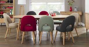 retro möbel in modernem interieur ideen top esstisch