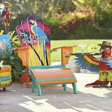 Custom Painted Margaritaville Adirondack Chairs by Jimmy Buffets Margaritaville Adirondack Chairs No Shirt No Shoes