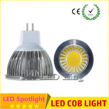 10x led bulb lada led mr16 gu10 gu5 3 cob 9w 12w 15w led