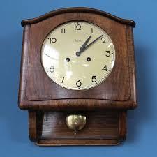 100 Mauthe MAUTHE VINTAGE MID CENTURY MODERN PENDULE CLOCK HORLOGE UHR