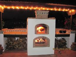 Blackstone Patio Oven Manual by Prefab Pizza Oven Fireplace Upper Oven Is Wood Fired Lower Is