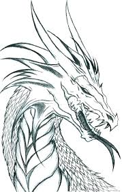 Dragon Coloring Pics Pages For Adults Unique And Difficult Or Fire Breathing Head Page