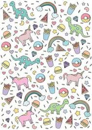 Immagine Di Unicorn Wallpaper And Rainbow