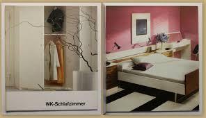 original möbelkatalog wk schlafzimmer um 1970