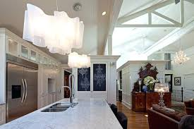 pendant lights above kitchen island contemporary kitchen by