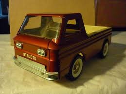 Structo 1960's Corvair Rampside Pickup Truck