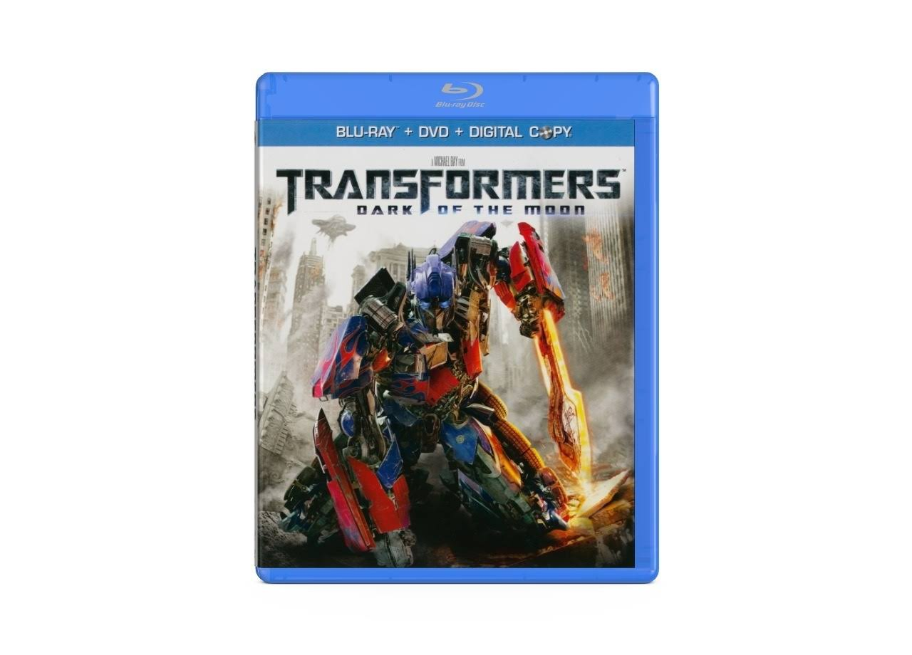 Transformers: Dark of the Moon DVD