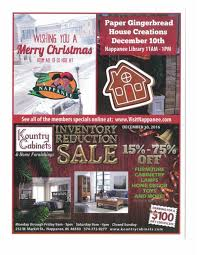 Kountry Cabinets Home Furnishings Nappanee In by Nappanee Events On December 9th And 10th 2016