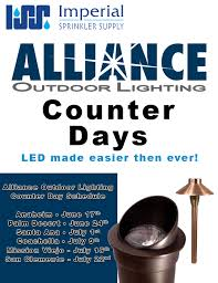 Alliance Outdoor Lighting Imperial Sprinkler Supply Palm Desert
