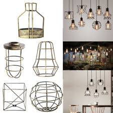 Plug In Swag Lamps Ebay by Wire Cage Light Ebay