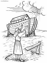 Download Noah Ark Coloring Page At 600 X 804 Resolution Back To Post
