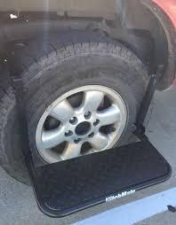 Heininger Hitch Mate Tire Step Up Stool RV Camper Class C Van Truck ...