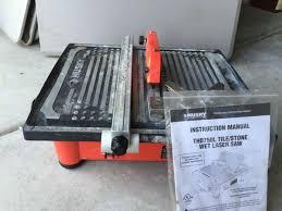 husky tile saw model thd750l husky thd750l tile saw tools machinery in moncks