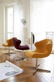 100 Ligna Roset Alster Alster Carver Chair Aluminium Base On Castors