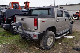 100 H2 Truck Complete Rear Bumper Cover Assembly 88980629 OEM Hummer SUT 2005