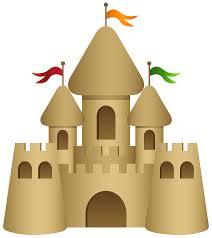 Sand Castle Transparent PNG Clip Art Image
