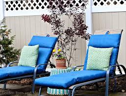 Blue Chaise Lounge Cushions From Christmas Tree Shop Goldenboysandme