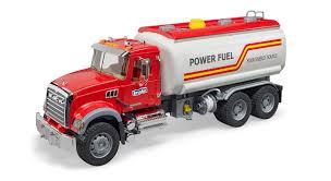 100 Bruder Logging Truck Mack Granite Tanker Toy 02827 Kids Play Auth Dealer EBay