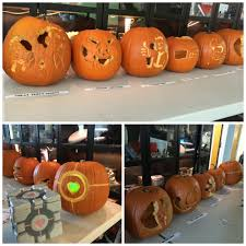 Easy Zombie Pumpkin Stencils by Blurgh The Thinkgeek Blog The Great Geeky Pumpkin Template