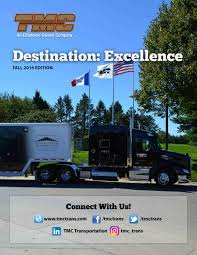 100 Tmc Trucking Destination Excellence Fall 2016 Edition By TMC