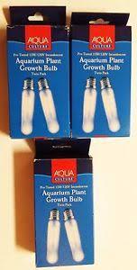 aqua culture 15 watt incandescent aquarium plant growth bulb 3