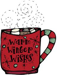 Mug of hot chocolate clipart