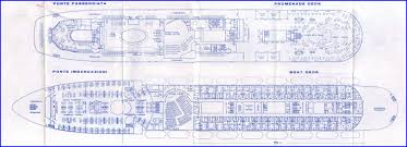Titanic B Deck Plans by A Cruise On The Achille Lauro U2013 Blogging While Allatsea