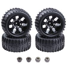 100 Rims Truck Amazoncom 4Pack HobbyPark RC Tires And Wheels Sets Foam