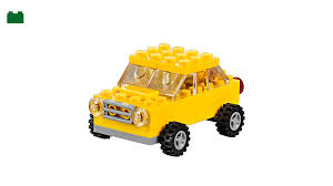100 Lego Truck Instructions Yellow Car LEGO Classic LEGOcom US