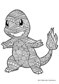 Pokemon Charmander Coloring Page