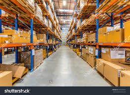 100 Melbourne Warehouse Australia July 1st 2016 Interior Stock Photo