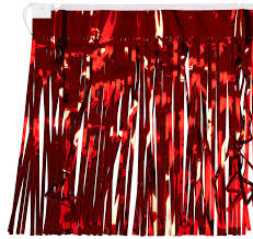 Parade Float Supplies Now by Amazon Com 2 Ply Fr Metallic Fringe Drape Blue Party Accessory