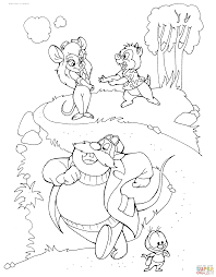 Click The Gadget Hackwrench Dale Monterey Jack And Zipper Coloring Pages