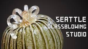 Glass Blown Pumpkins Seattle by Seattle Glassblowing Studio Youtube
