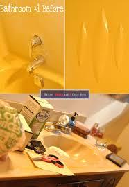 Bathtub Refinishing Kit Spray by Raising Hope Diy Rust Oleum Tub And Tile Refinishing Kit