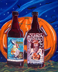 Jolly Pumpkin Brewery by Year Of Beer Paintings U2013 Day 241 Real Art Is Better