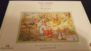 PBK Peter Rabbit Floor Puzzle Beatrix Potter 24 Pieces Pottery ... Life At The Zoo Peter Rabbit Nursery Nwt Pottery Barn Kids Peter Rabbit Beatrix Potter Quilt Bumper Baby Shower Invitations Choice Image Handycraft Htf Unused Flopsy Bunnies Novelty Pbk Floor Puzzle 24 Pieces Toys Popsugar Moms 474 Best Peter Rabbit Images On Pinterest Karas Party Ideas Spring Easter With Friends Pottery Barn Kid Crib 1674