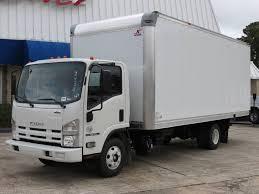 100 20 Ft Truck 18 Isuzu NPRHD With Ft Box Dry Van Body DIESEL Conroe TX