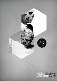 Classy And Edgy More Geometry With Photography By Rick Genest Graphic Design LogosTypography Poster