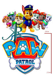paw patrol tortenaufleger geburtstag tortendeko