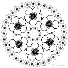 Mandalas Para Colorear Flores Pdf