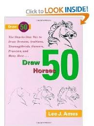 Draw 50 Horses The Step By Way To Broncos Arabians Thoroughbreds D