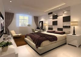 Recessed Lighting Decoration For Interior Bedroom Ideas With Wall Tv