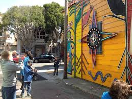 Balmy Alley Murals Mission District by C Proppé Artist U0027s Blog In The Studio Today Mission Murals