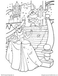 Top 91 Cinderella Coloring Pages Free Page