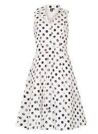 retro 1950s polka dot dresses for sale