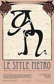 deco typography history metro type nouveau typography nouveau deco