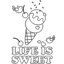 The Ice Cream Makes Life Sweet